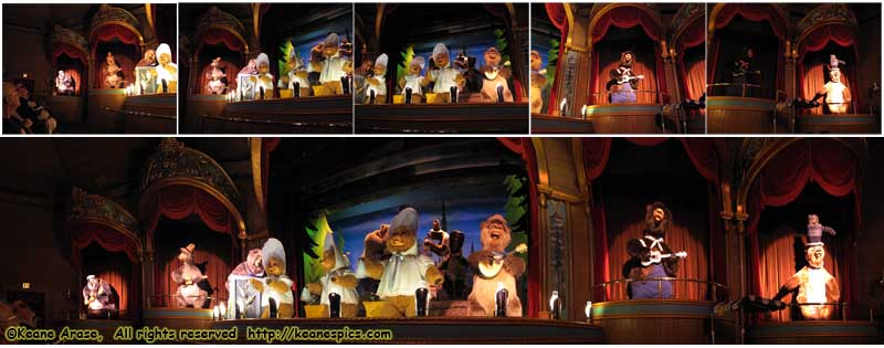 Country Bear Jamboree, Walt Disney World