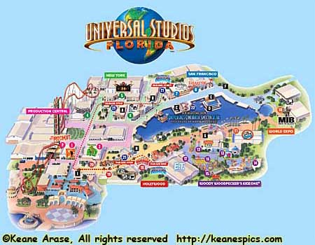 Harry Potter World Florida Map.Keane S Picture Web Site Universal Orlando Resort Universal
