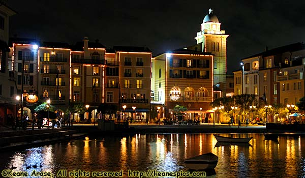 Portofino Bay Hotel, The High End Loews Hotel At Universal Orlando. Even  Though There Are Lights Are Burned Out, It Still Looks Better At Night Than  During ...