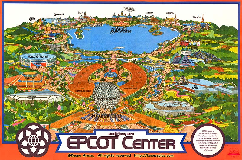 Pics Photos - Walt Disney World Park And Resort Maps Epcot Area Map